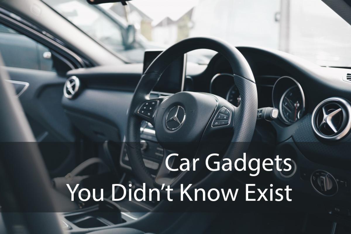 You car needs more gadgets