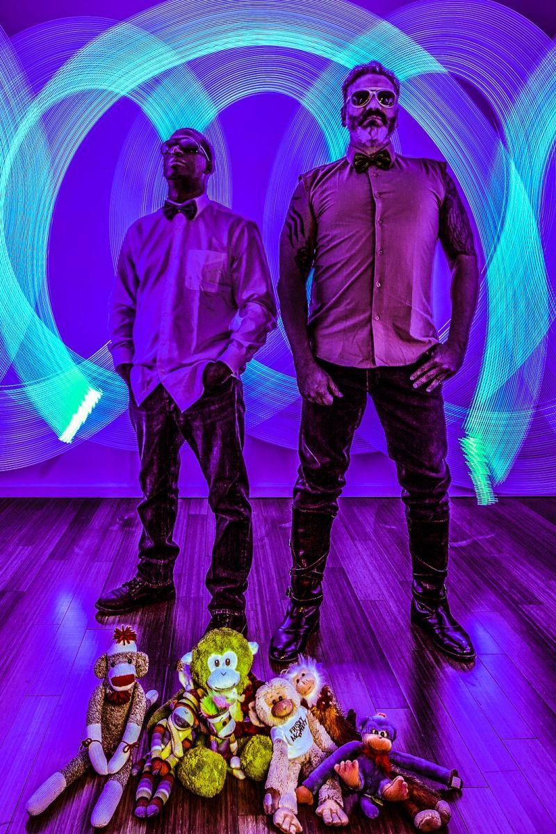 #Synthfam Interview: Frisky Monkey (Juan + Douglas)