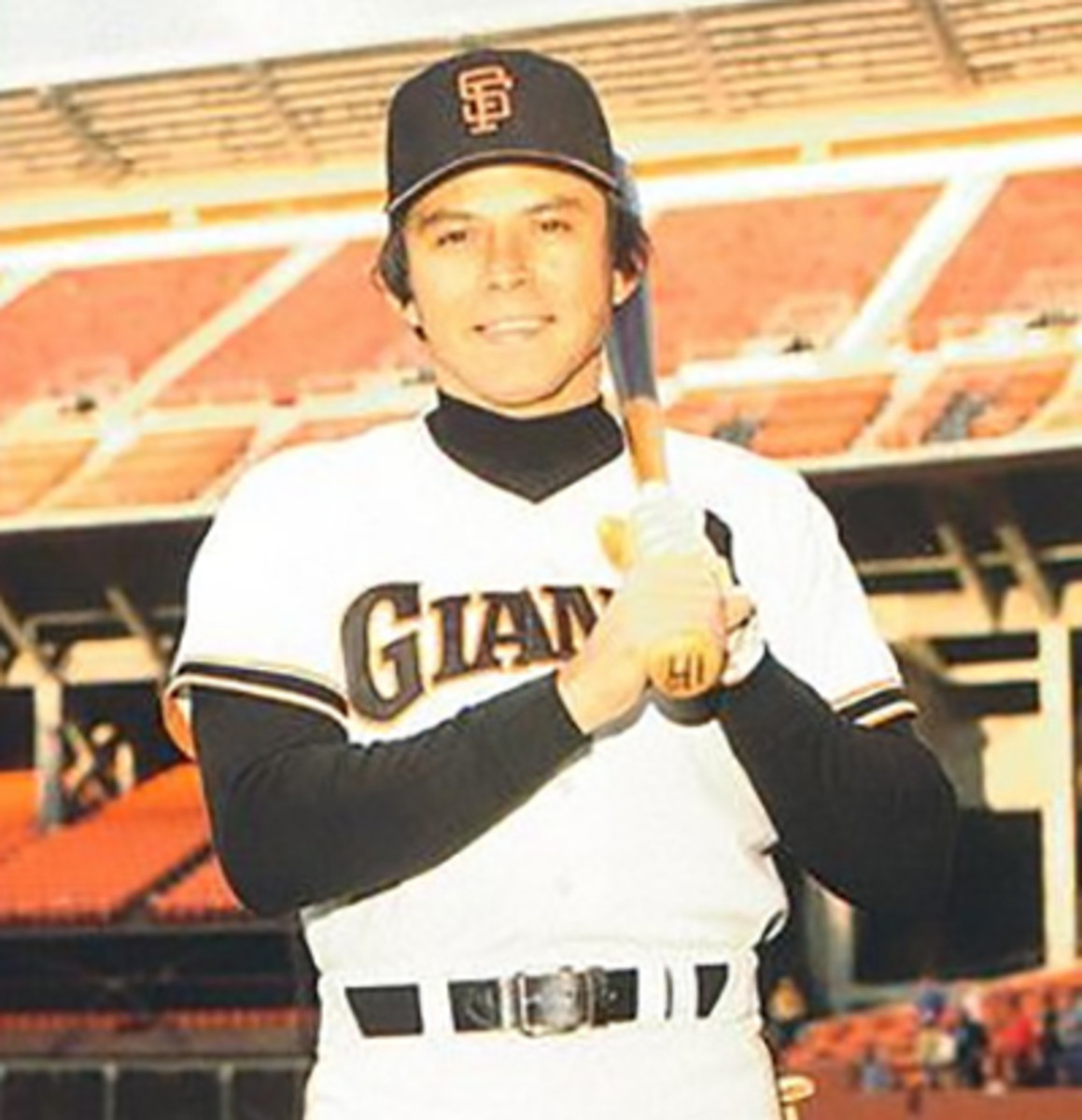 Darrell Evans with the Giants around the time he turned 36.