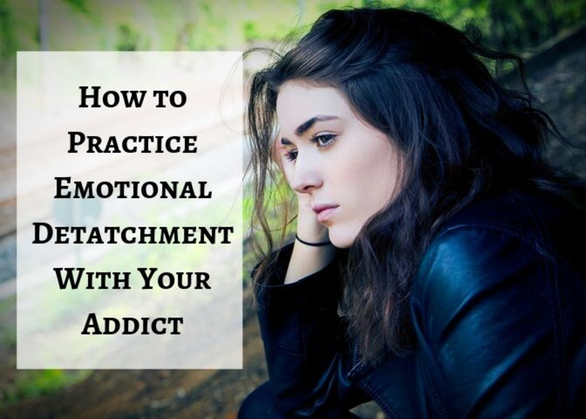 It's important to take care of your own mental health when loving an addict.
