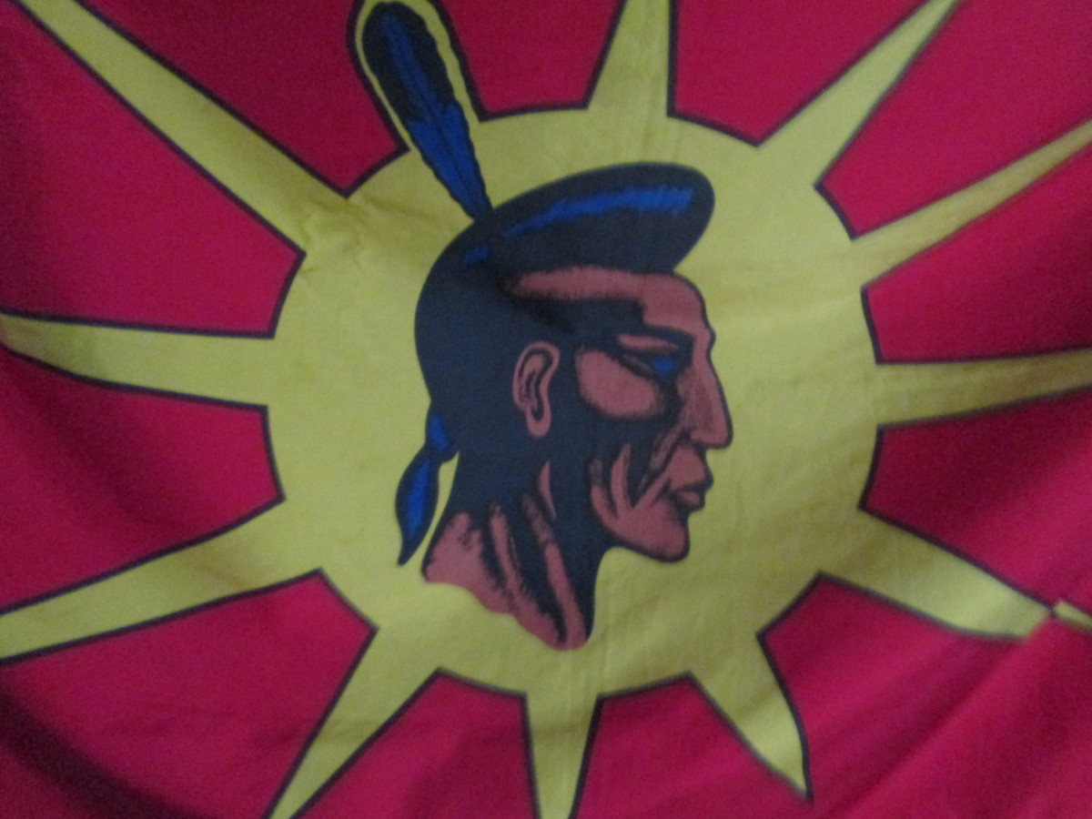A Mohawk Warrior calling for Unity