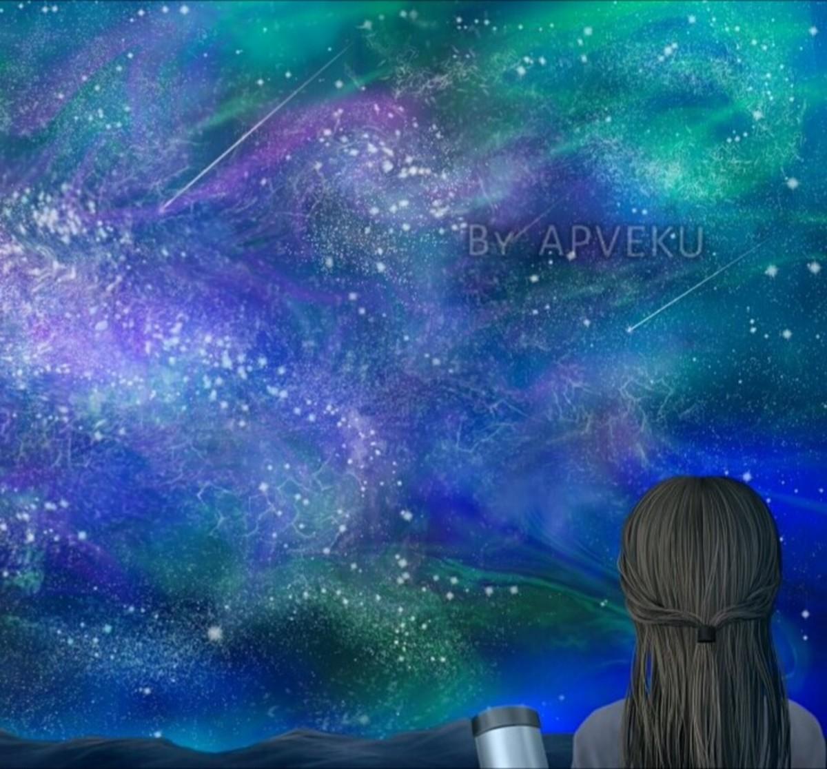 Digital Painting by Apveku