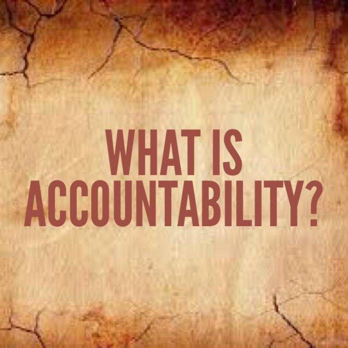 What the Bible Says About Accountability