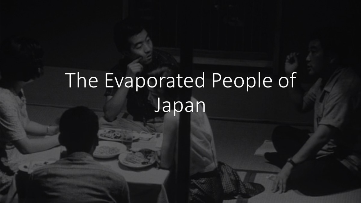 The Johatsu: The Evaporated People of Japan