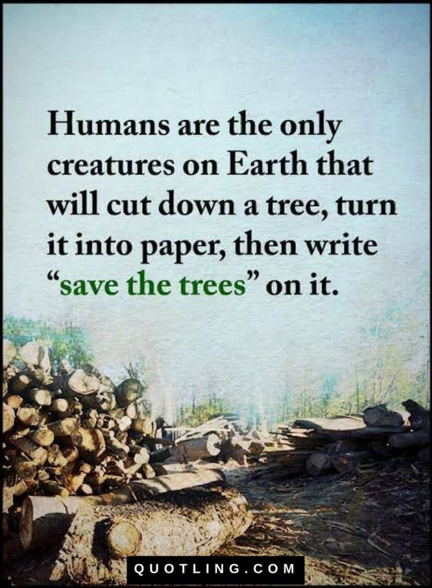 Save Earth, Save It From Ourselves