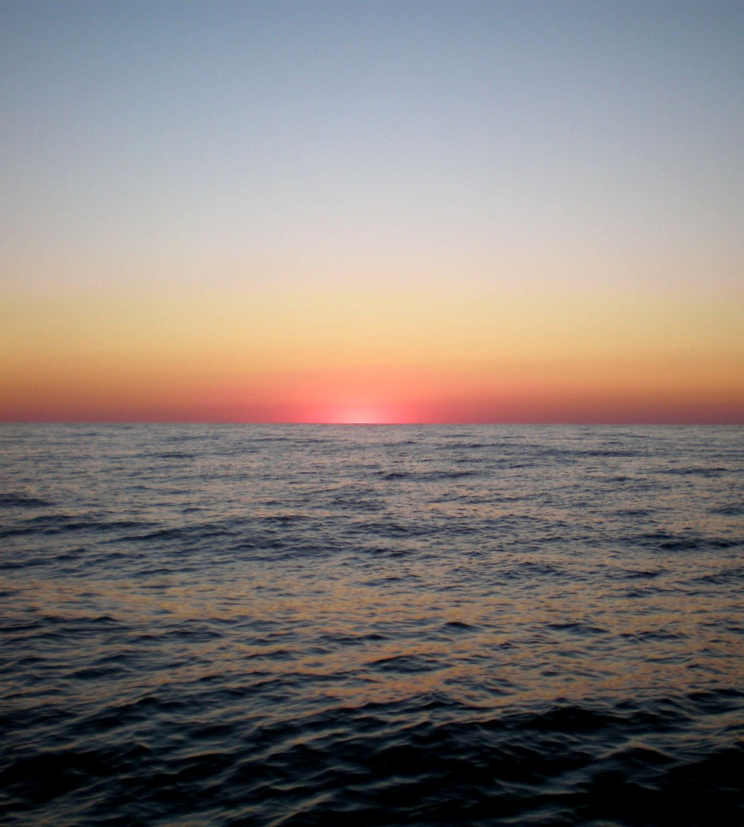 A Heaven Sent Ruby Sunset