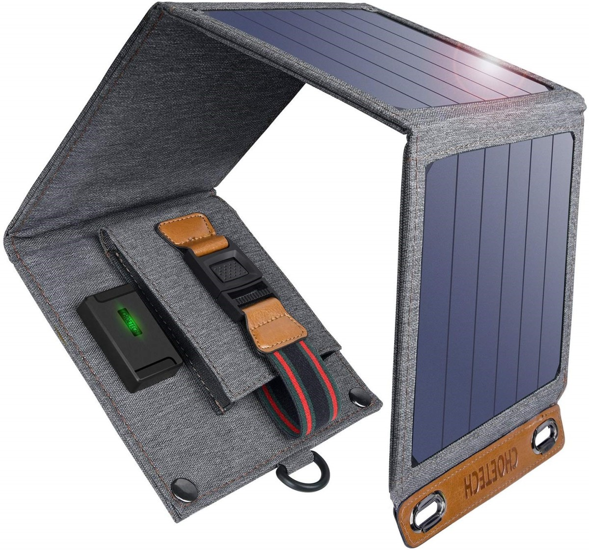 Review of Choetech Foldable Solar Charger: Excellent Outdoor Phone Charger