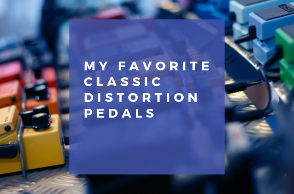 5 Classic Distortion Pedals