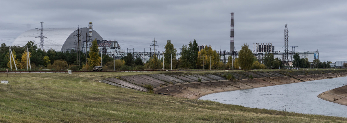 Panoramic Photo of the Chernobyl Nuclear Power Plant
