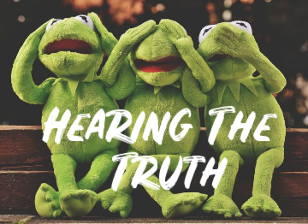 Poem: Hearing The Truth...