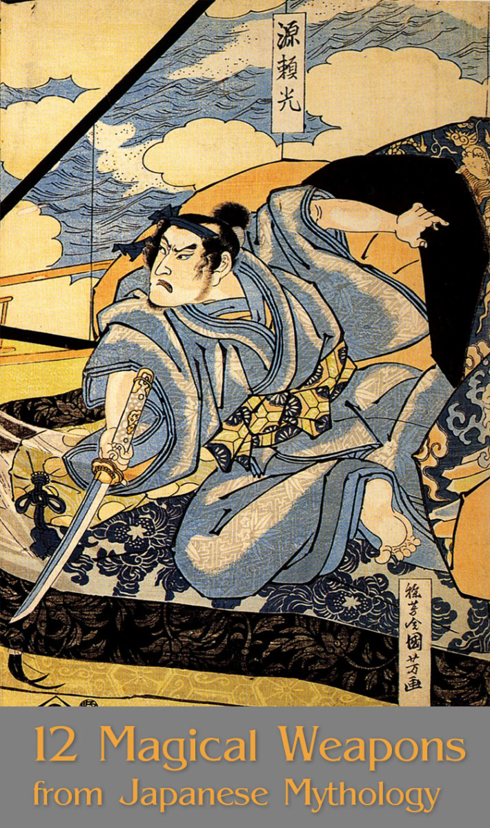 12 Magical Weapons From Japanese Mythology to Know About