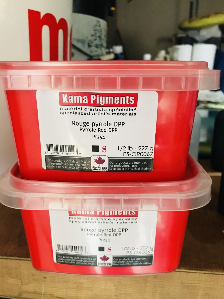 The Rich Story of Pigment Red 254