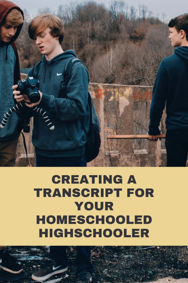 How to Make a Homeschool High School Transcript