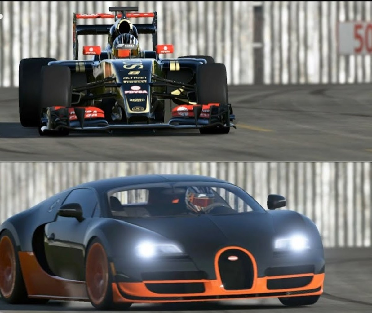 Racing Videos: Formula 1 Car vs. Road Car vs. Boat vs. Jet