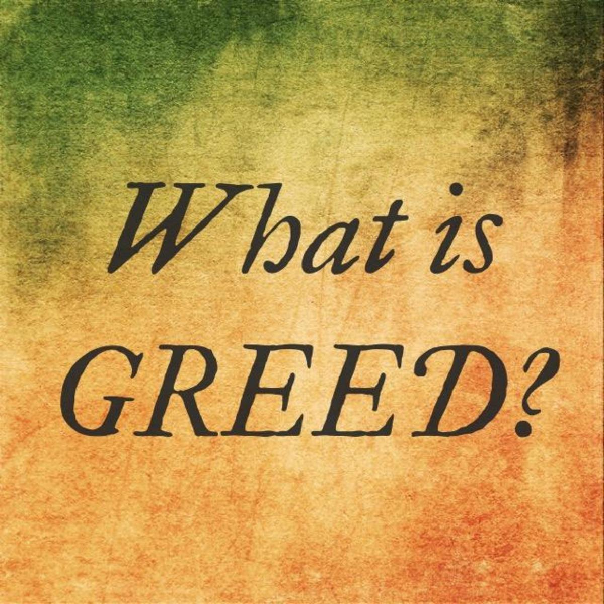 What the Bible Says About Greed