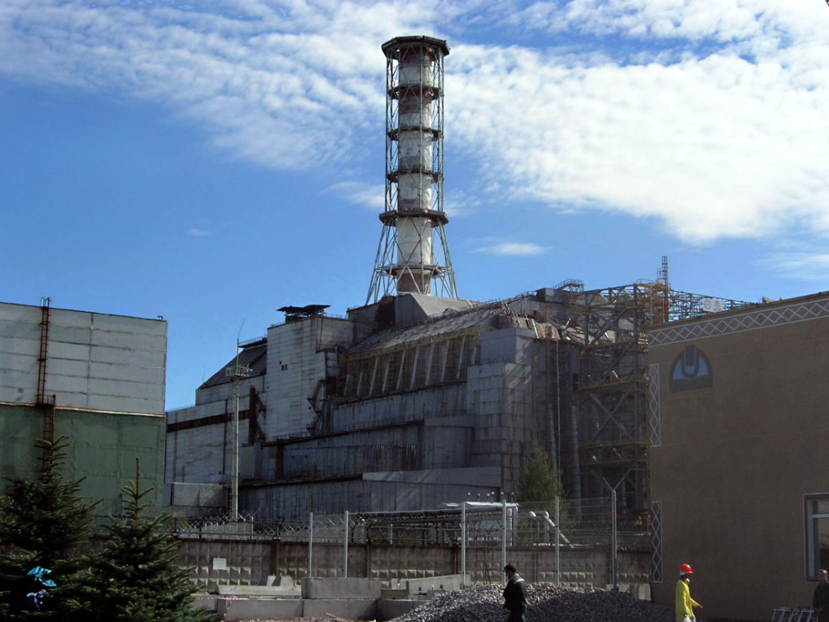 Picture of the Chernobyl Nuclear Power Plant.