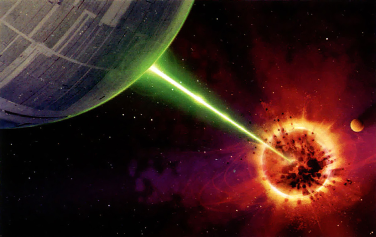 The Death Star's superlaser