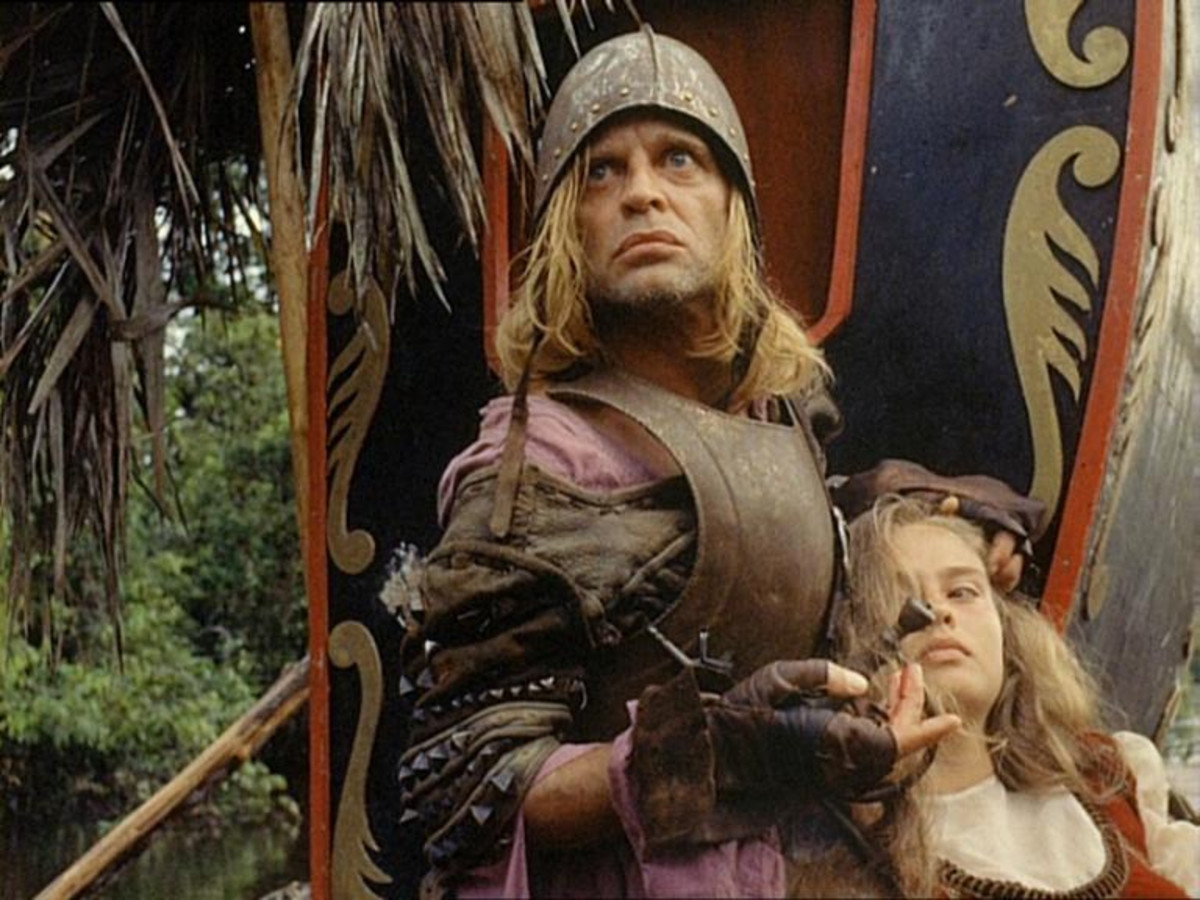 Klaus Kinski in Aguire: Wrath Of God
