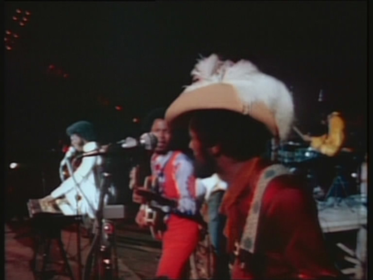 Woodstock Performers: Sly and the Family Stone