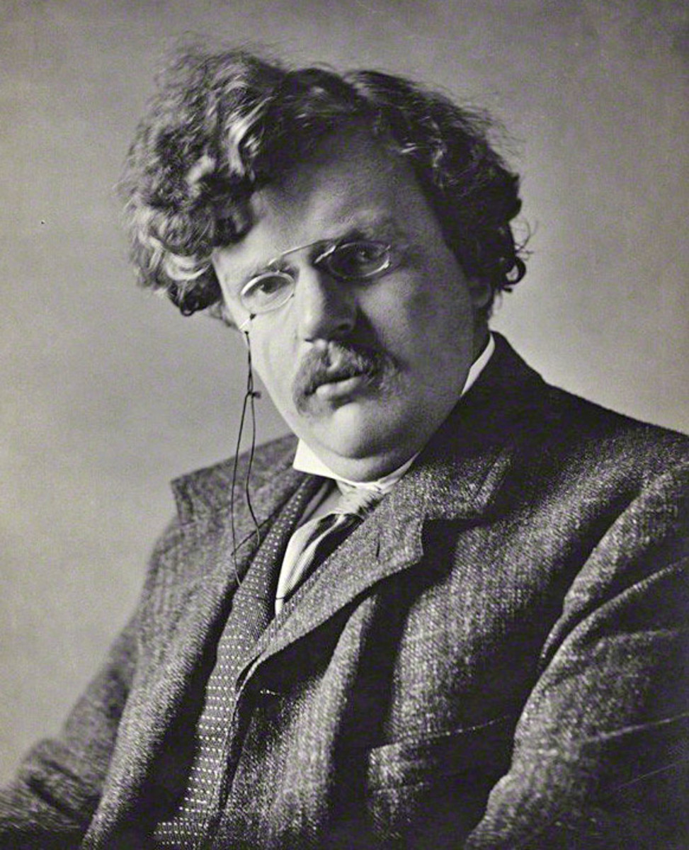 """""""The Queer Feet"""": A Short Story by G. K. Chesterton"""