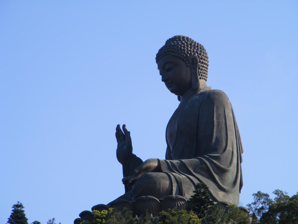 The Big Buddha on Lantau Island