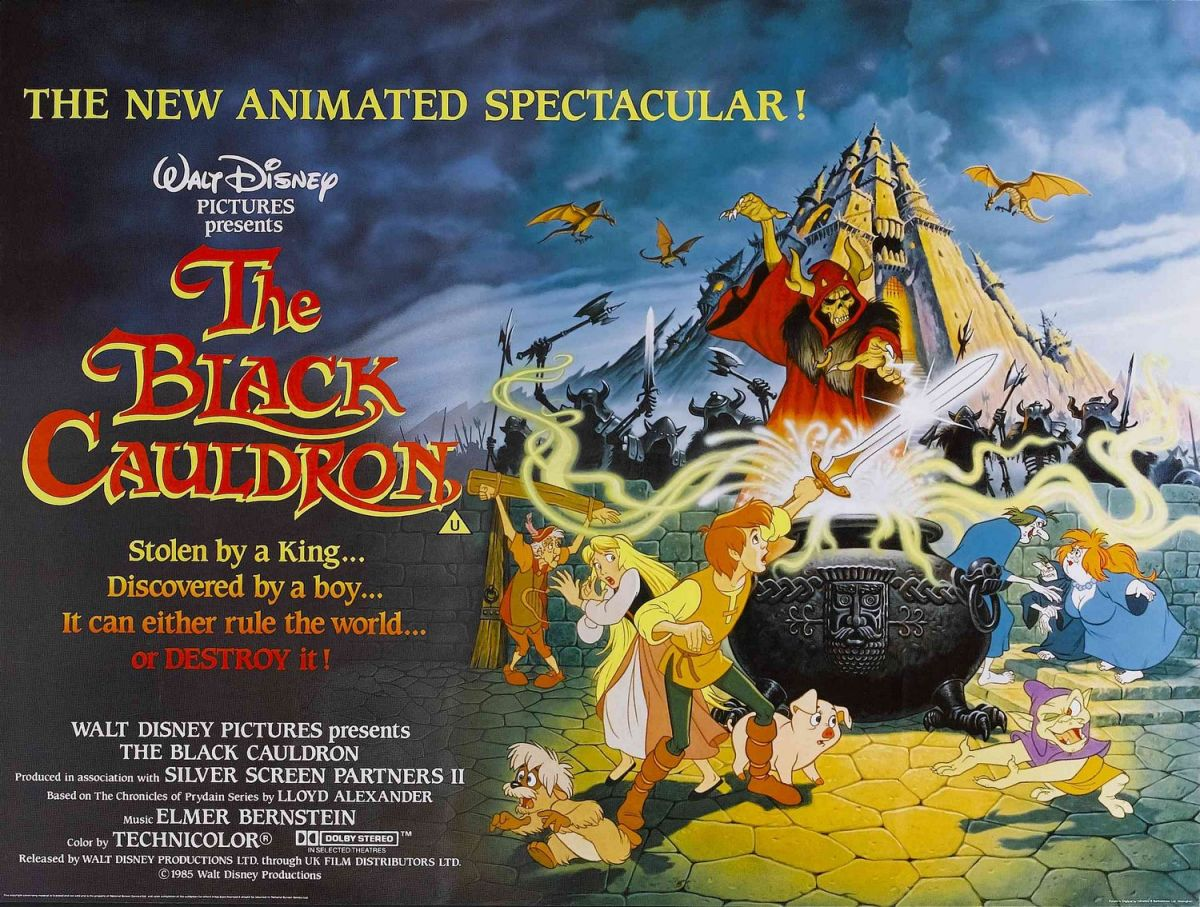 Take a Risk, Disney—Remake 'The Black Cauldron'