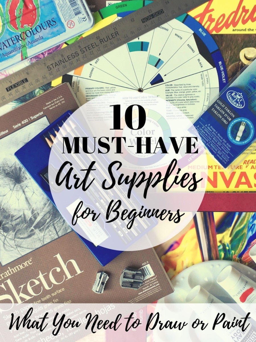 10 Must-Have Art Supplies for Beginners