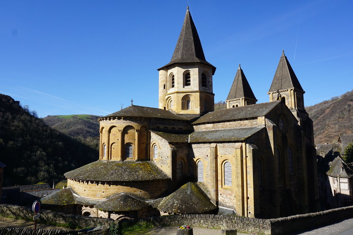 The Legendary Abbaye Sainte-Foy in Conques, France