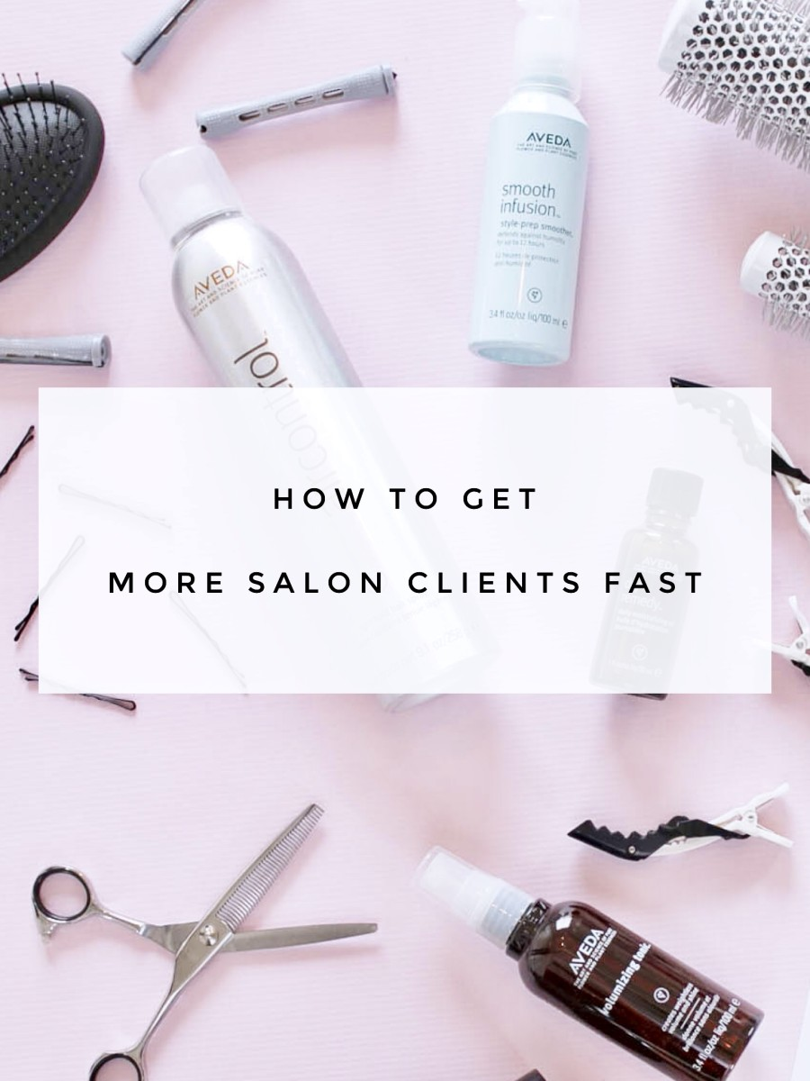 How to Get More Clients as a New Hairstylist Fast