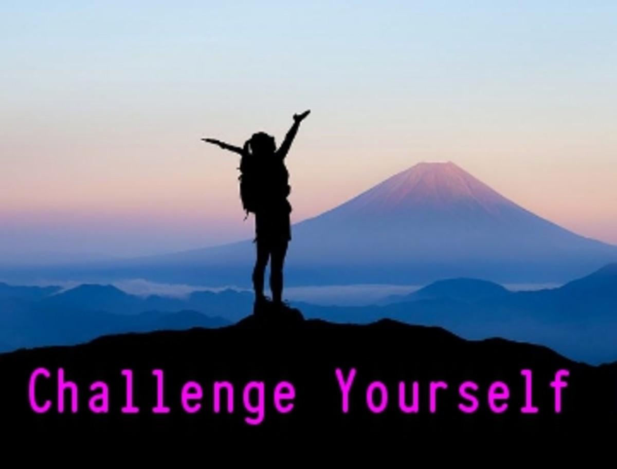 Poem:  Challenge Yourself