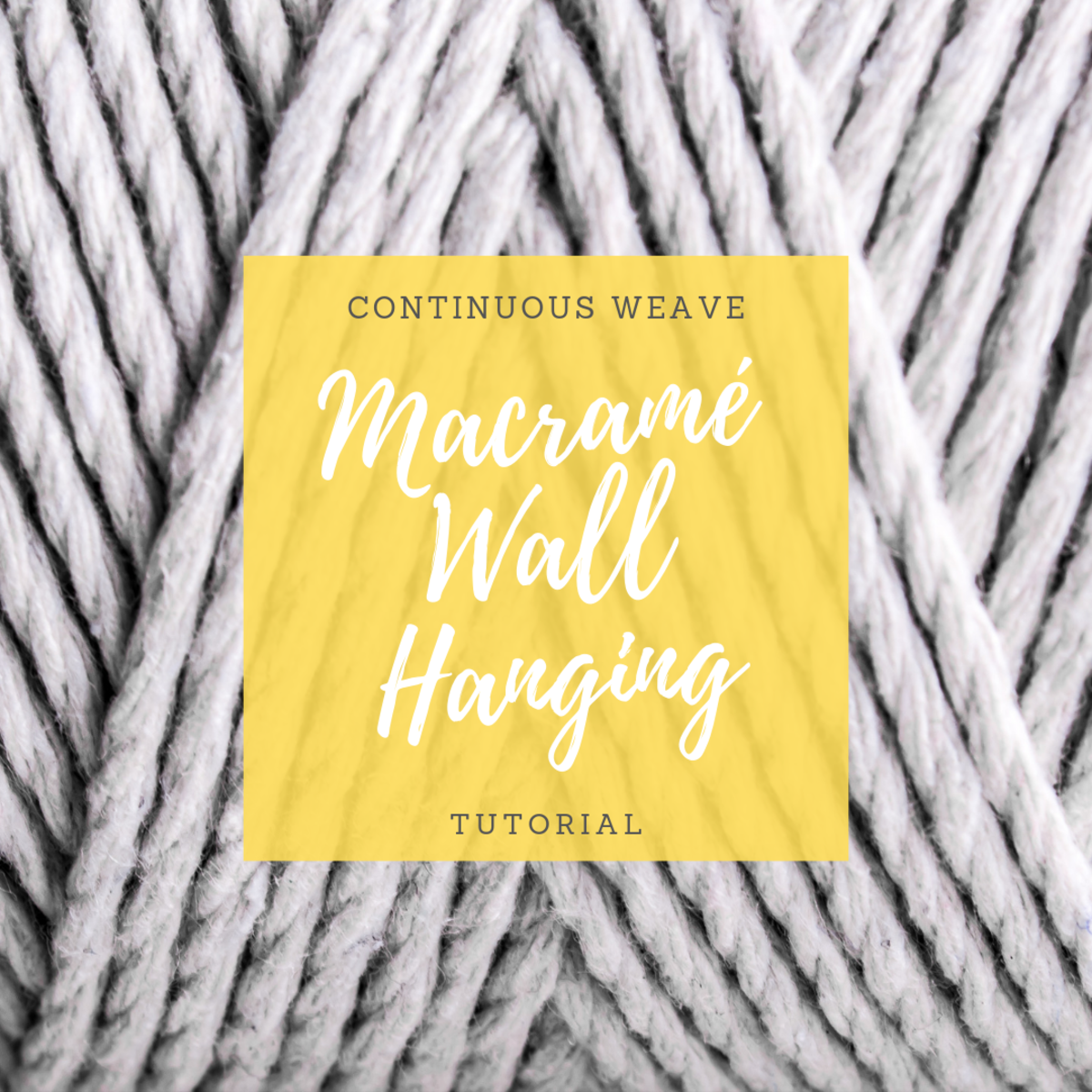 How to Make a Macramé Wall Hanging (With Step-by-Step Photos)