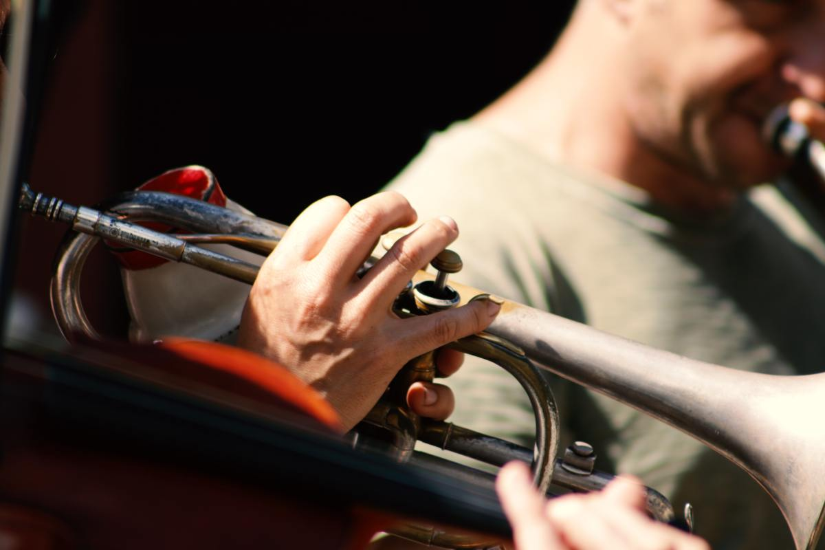 Learn the proper fingering for playing the trumpet.