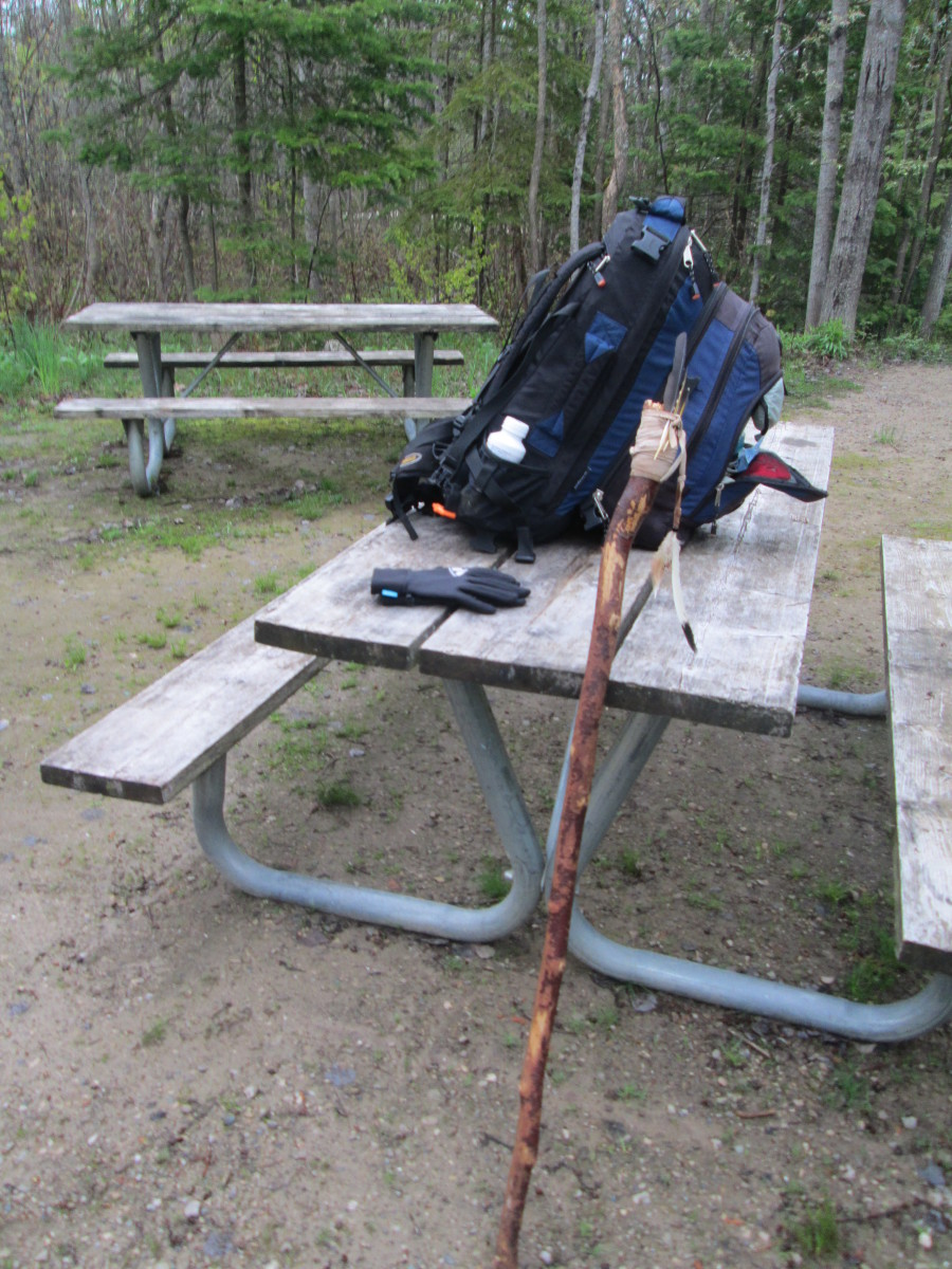 Long-Distance Hiking in Mixed Terrain on the Bruce Trail, Ontario