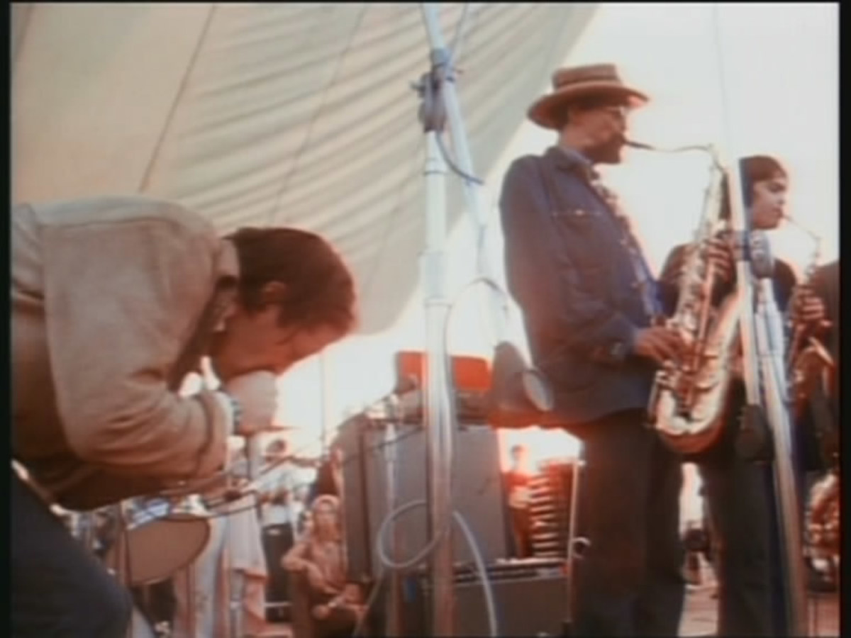 Woodstock Performers Paul Butterfield Blues Band Spinditty