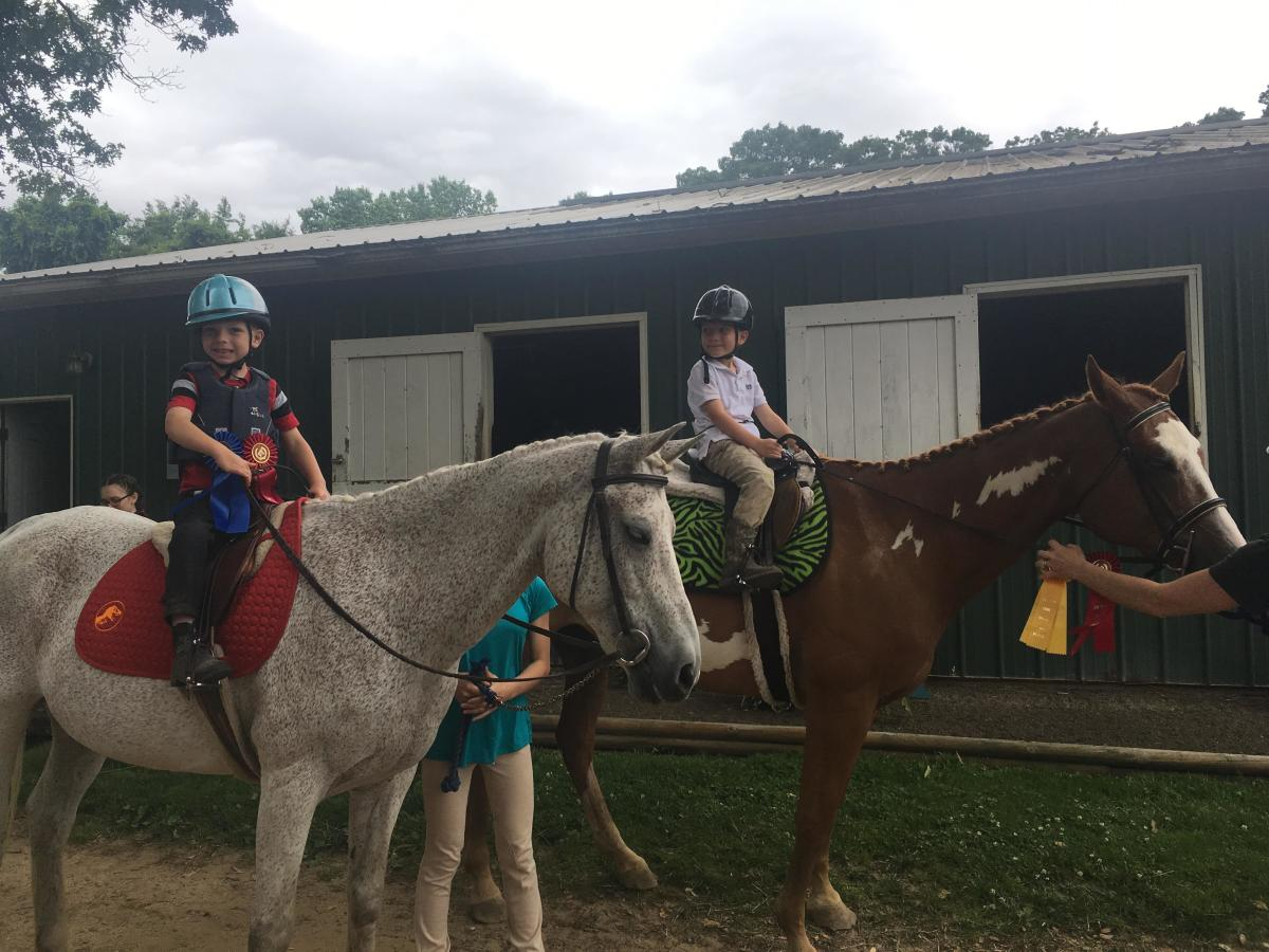 Mounted Games in Horseback Riding Lessons for Fun and Learning