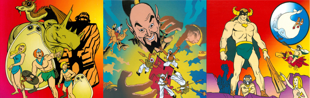History of Hanna-Barbera: 'Herculoids', 'Shazzan', and 'Mighty Mightor'