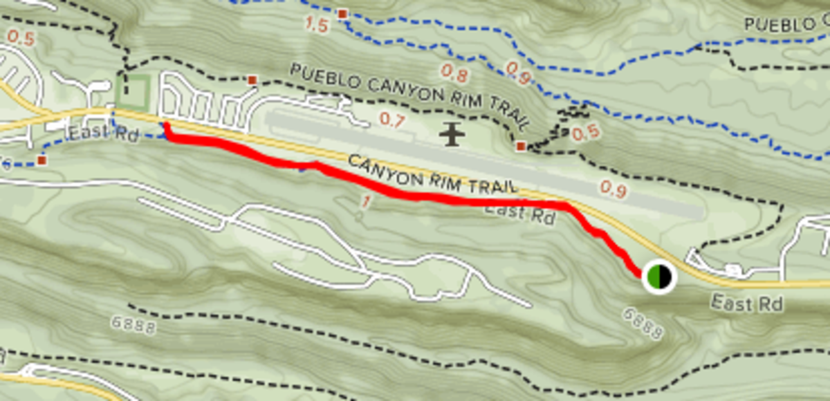 Great Hikes: Canyon Rim Trail, Los Alamos, New Mexico