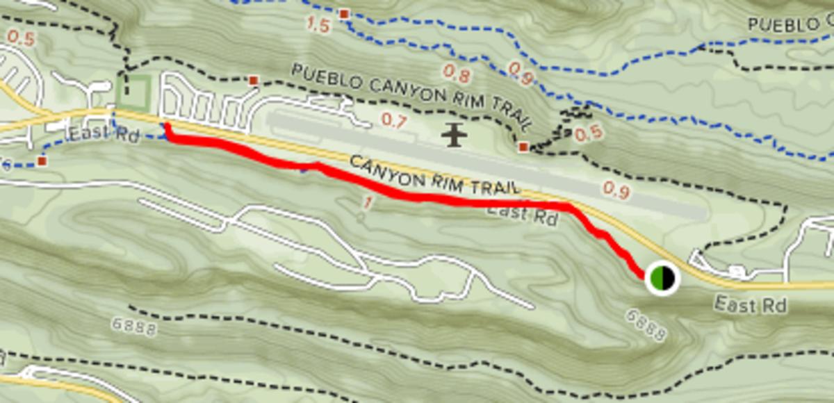 Great Hikes: Canyon Rim Trail, Los Alamos, New Mexico