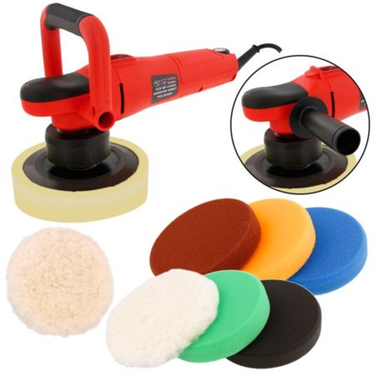 Polisher and Pads