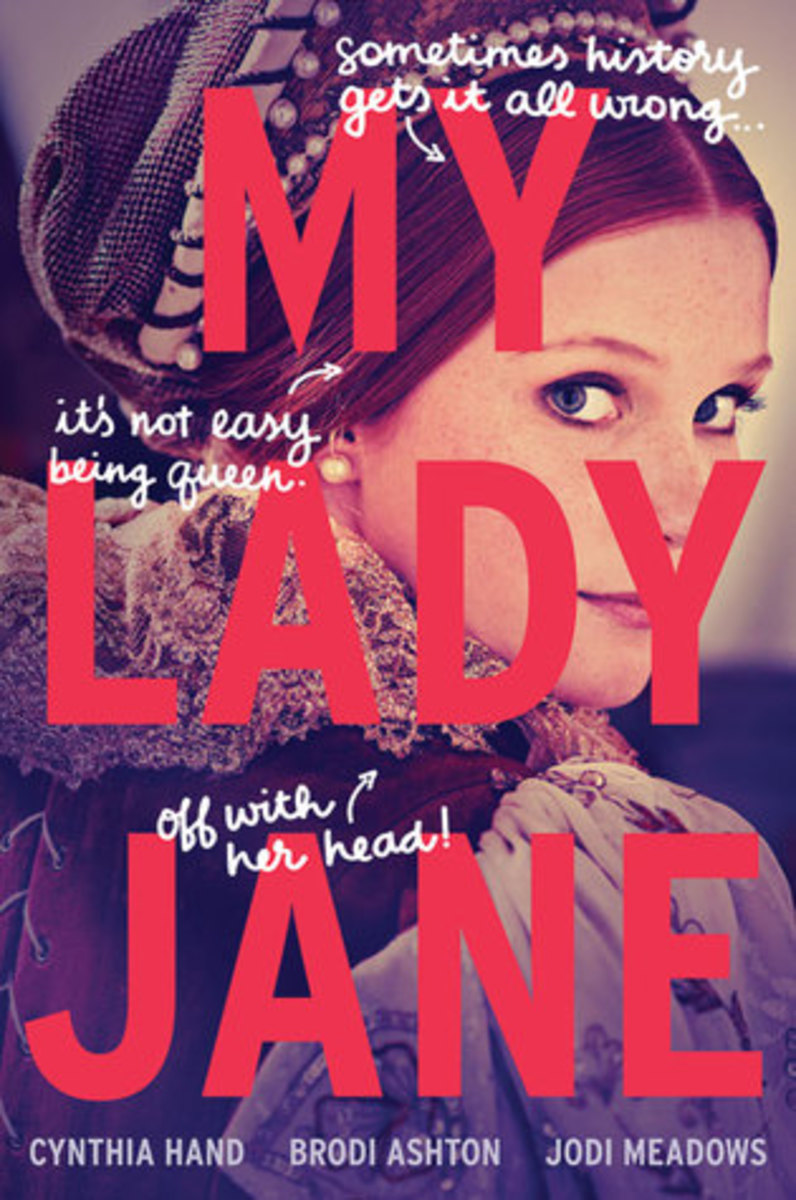 "The colorful cover for ""My Lady Jane"""