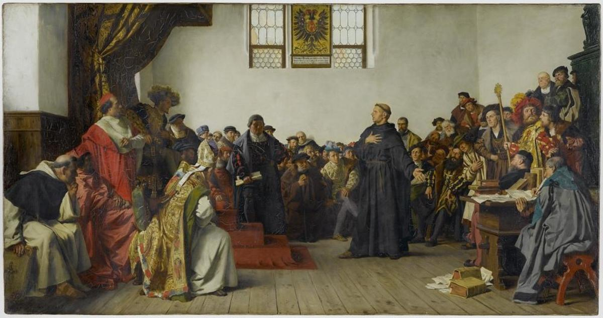 The Diet of Worms, 1521