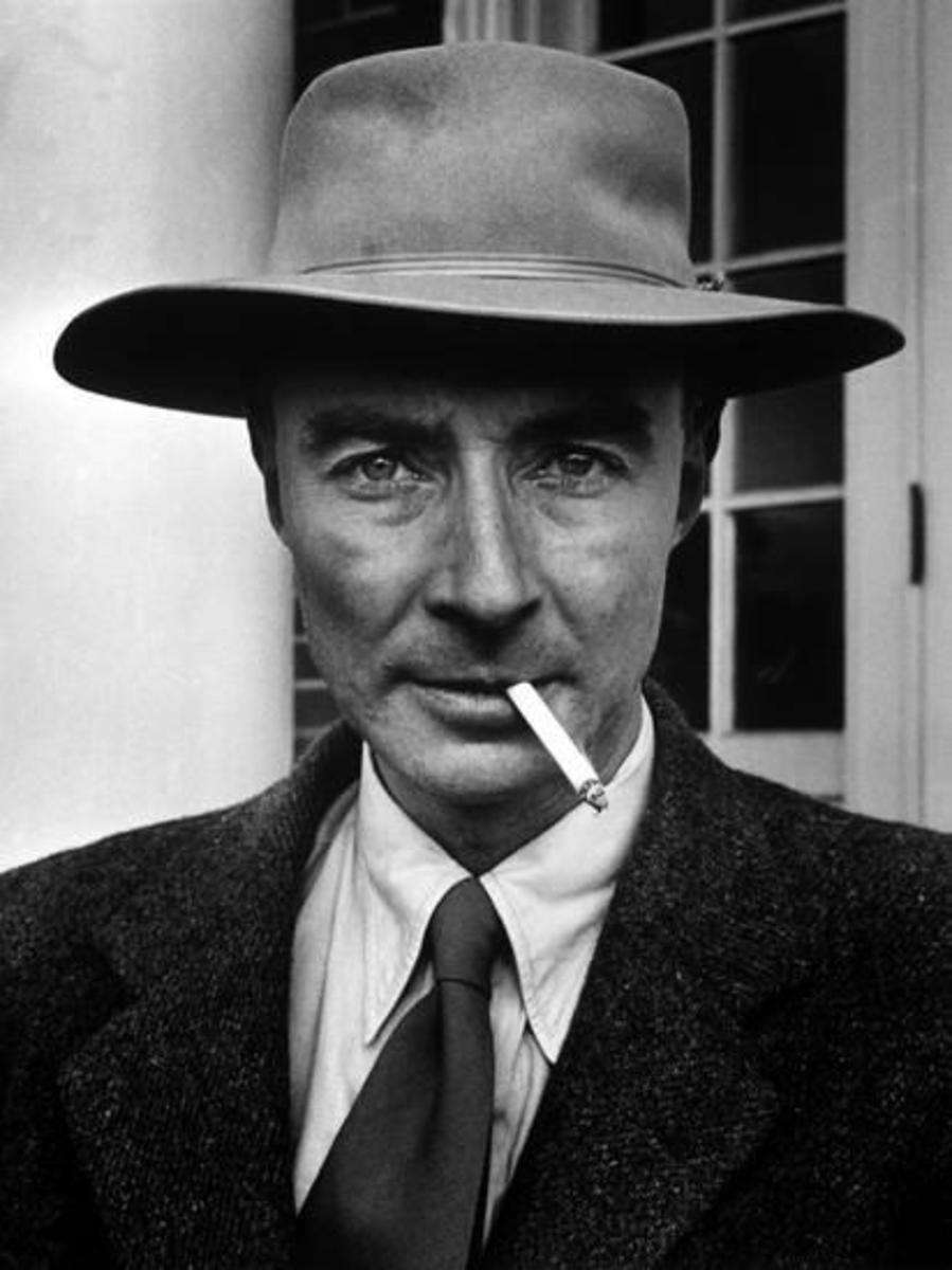 """J. Robert Oppenheimer: """"Now I Am Become Death, the Destroyer of Worlds"""""""