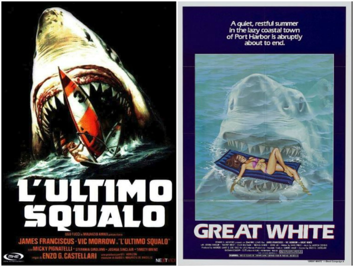Left: Italian film poster / Right: American poster