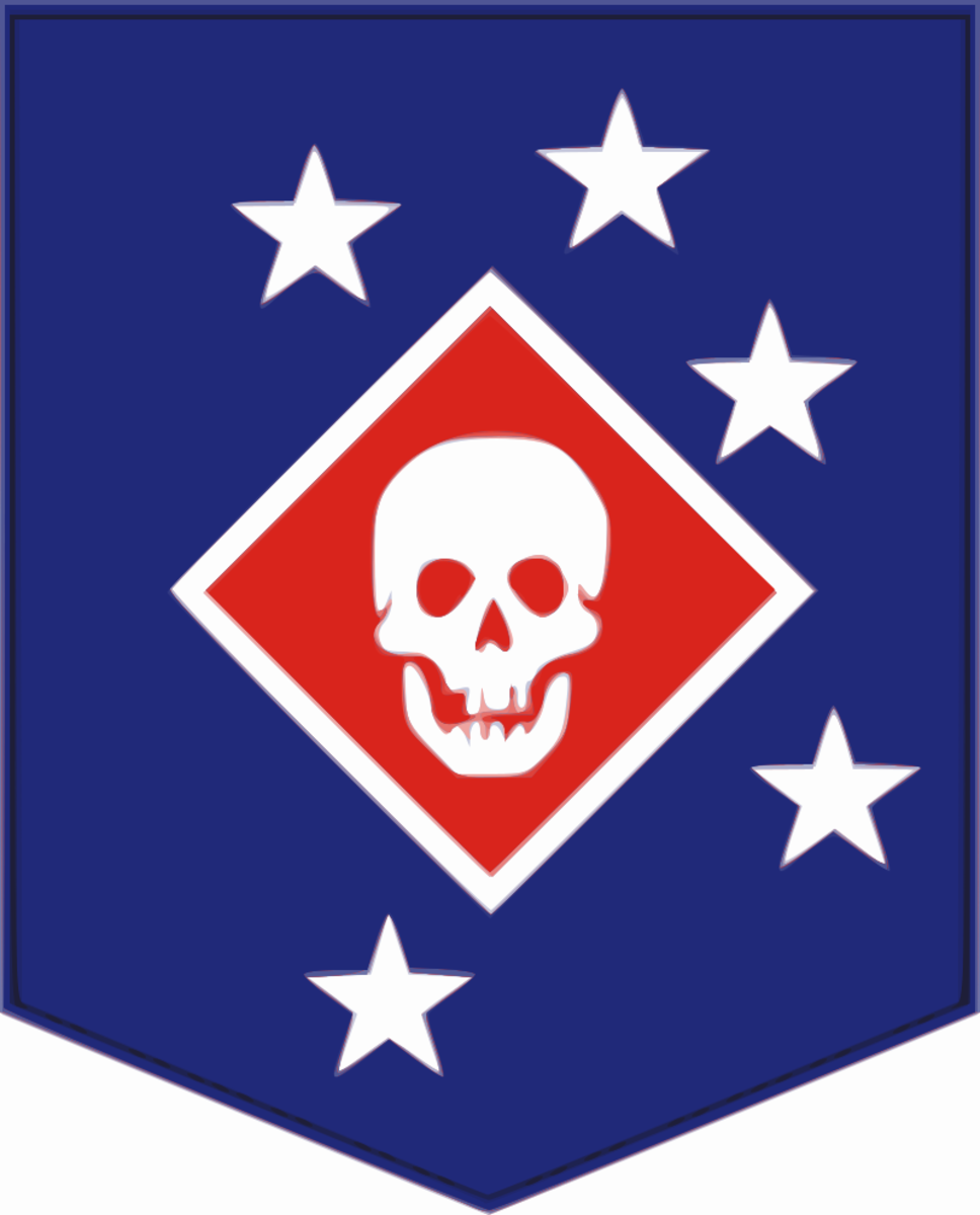 Marine Raiders Patch (Second World War).