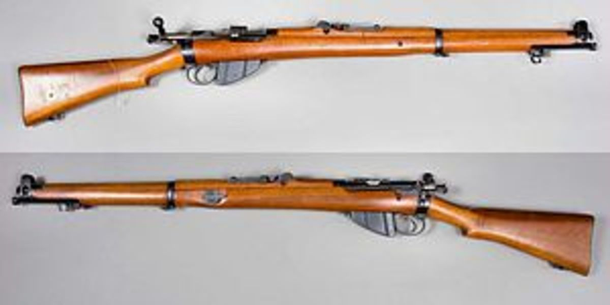 I learned to shoot with one of these, and the British Army used them as Sniper rifles for almost a hundred years (1898 to 1990s)