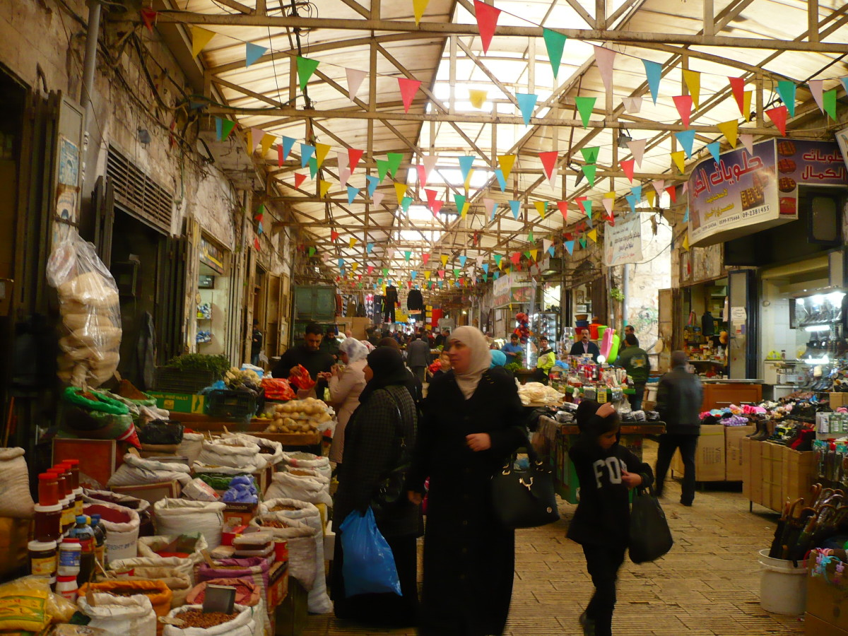 The daily shop in Nablus