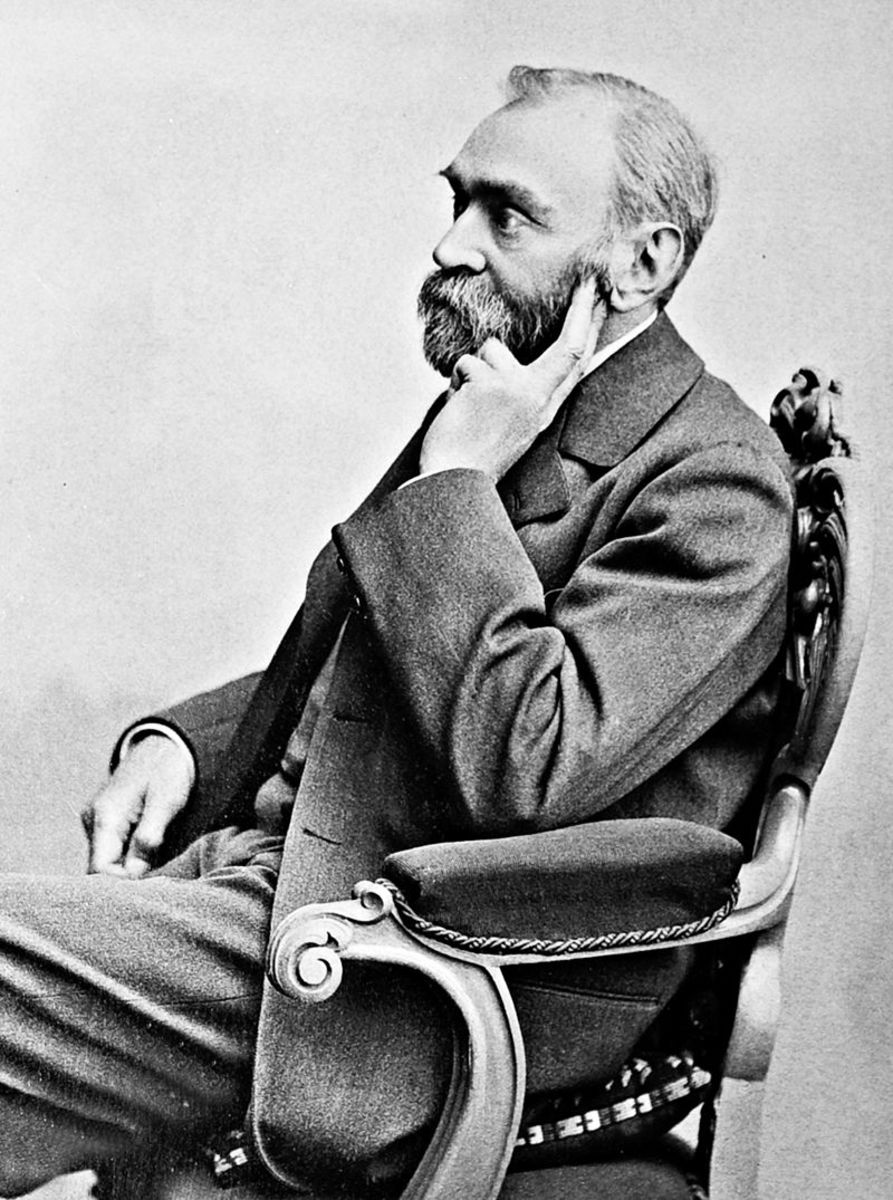 Portrait of Alfred Nobel by Goosta Florman.