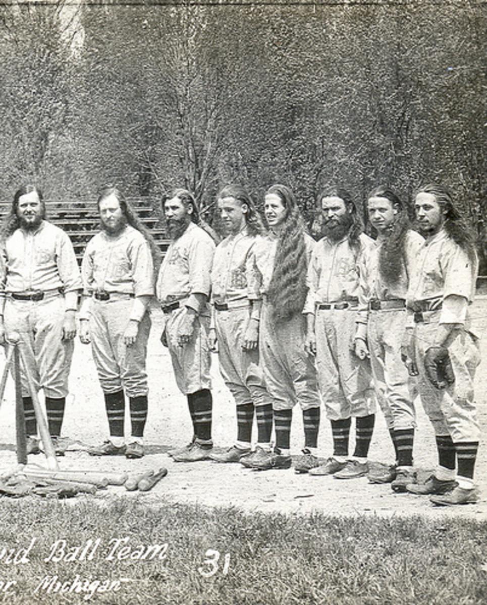 The House of David Baseball Team