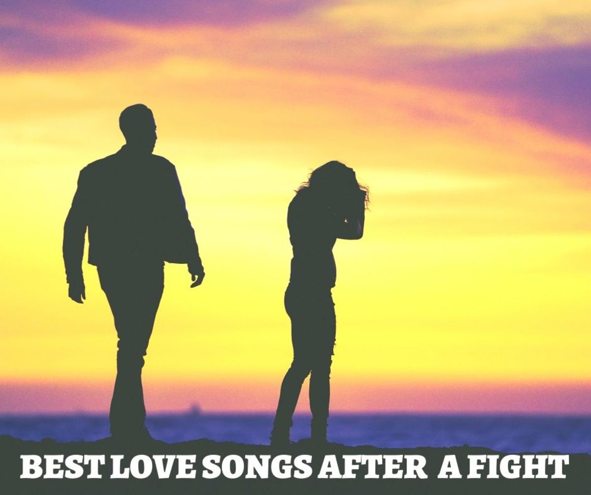 These great love songs will make things easier after a fight or argument.