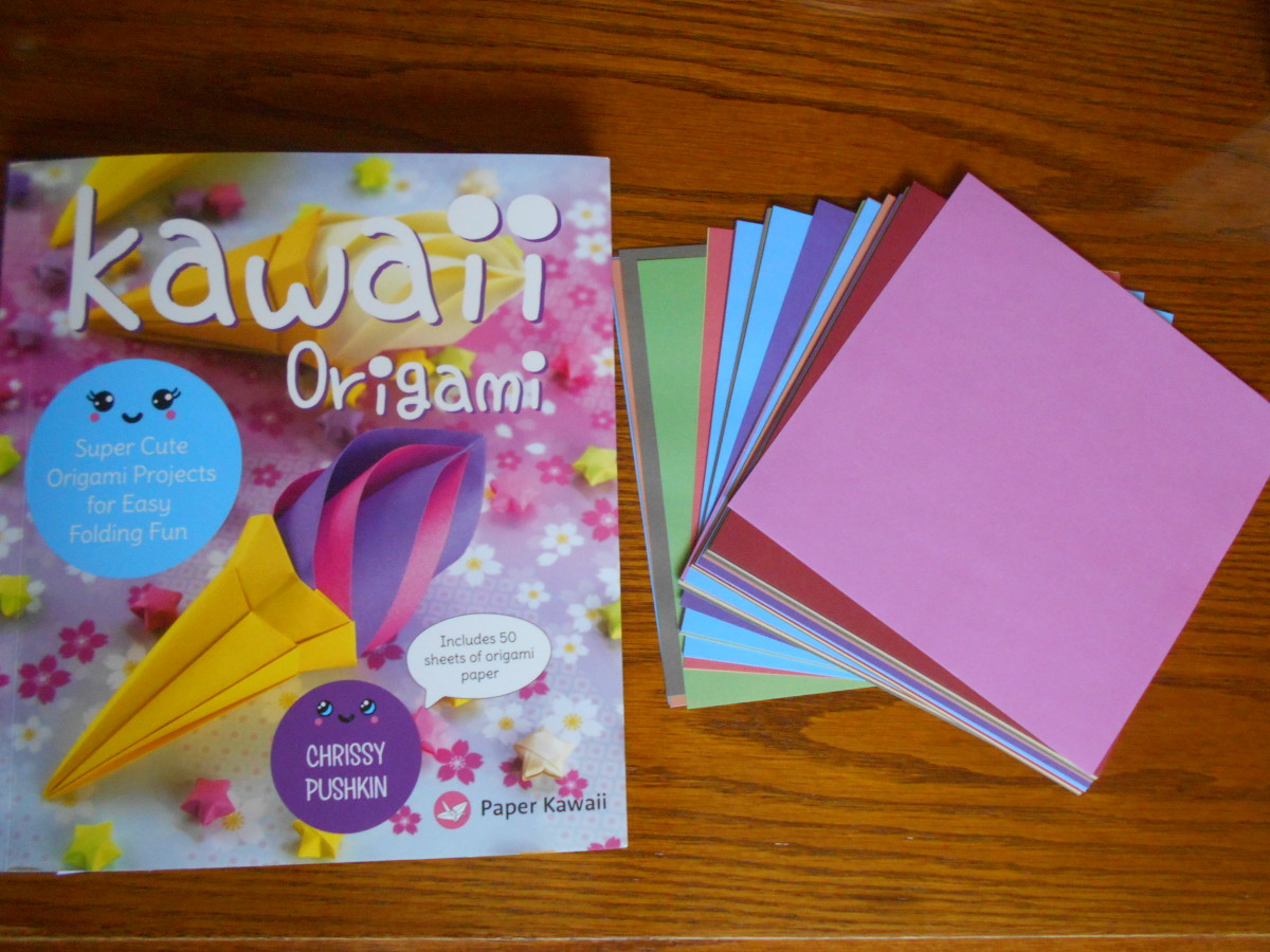 "My Book Review of ""Kawaii Origami"" by Chrissy Pushkin"